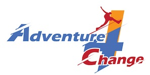 Adventure 4 Change – Creating change in Kitchener Waterloo, and beyond. Logo